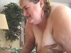 Megafat chesty lady drilled by dude