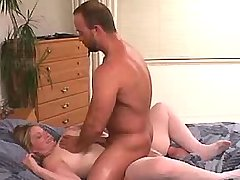 Lustful chesty mature gets titsfuck