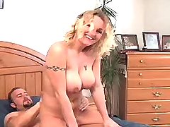 Tight body blonde w big tits fucked