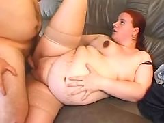 Chubby preggo sucks cock and fucks