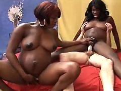 Pregnant black girls crazy fucked