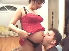 Indian preggy girl spoils horny men