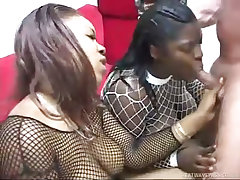 Submissive whores chyna white and envy offer up their asses