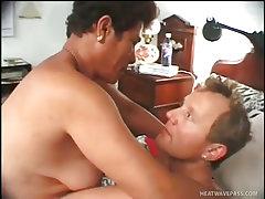 Old esmerelda shows true cocksucking skill